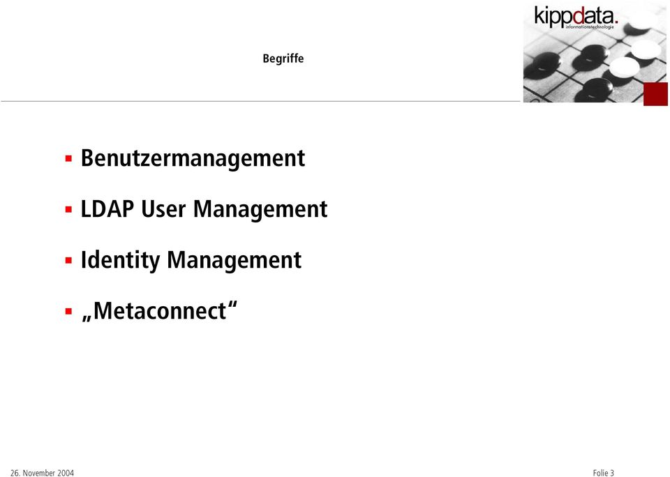LDAP User Management