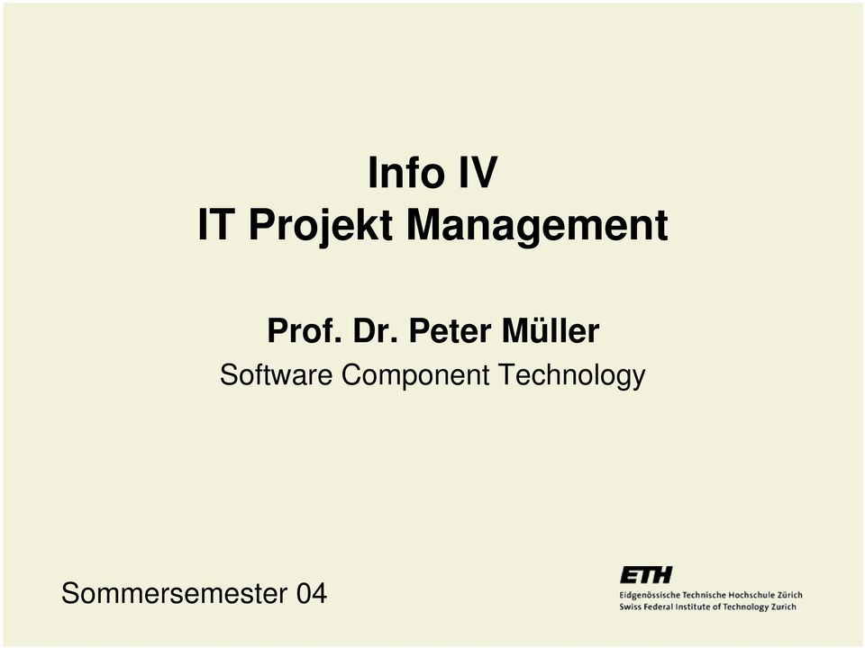 Peter Müller Software