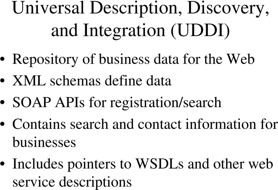 registration/search Contains search and contact information for