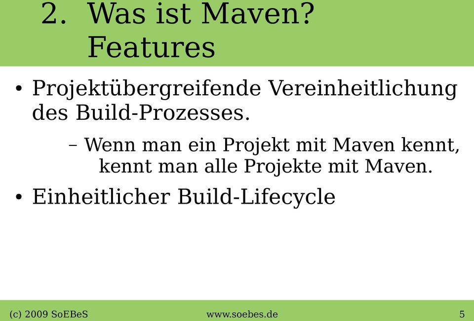Build-Prozesses.