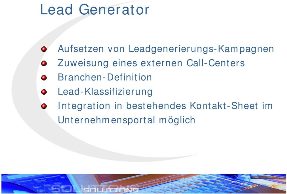 Call-Centers Branchen-Definition
