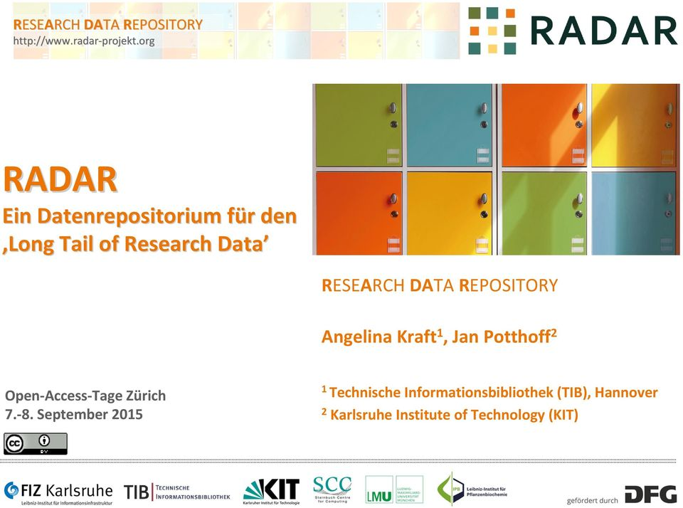 Research Data Angelina Kraft1, Jan Potthoff2 7. 8.