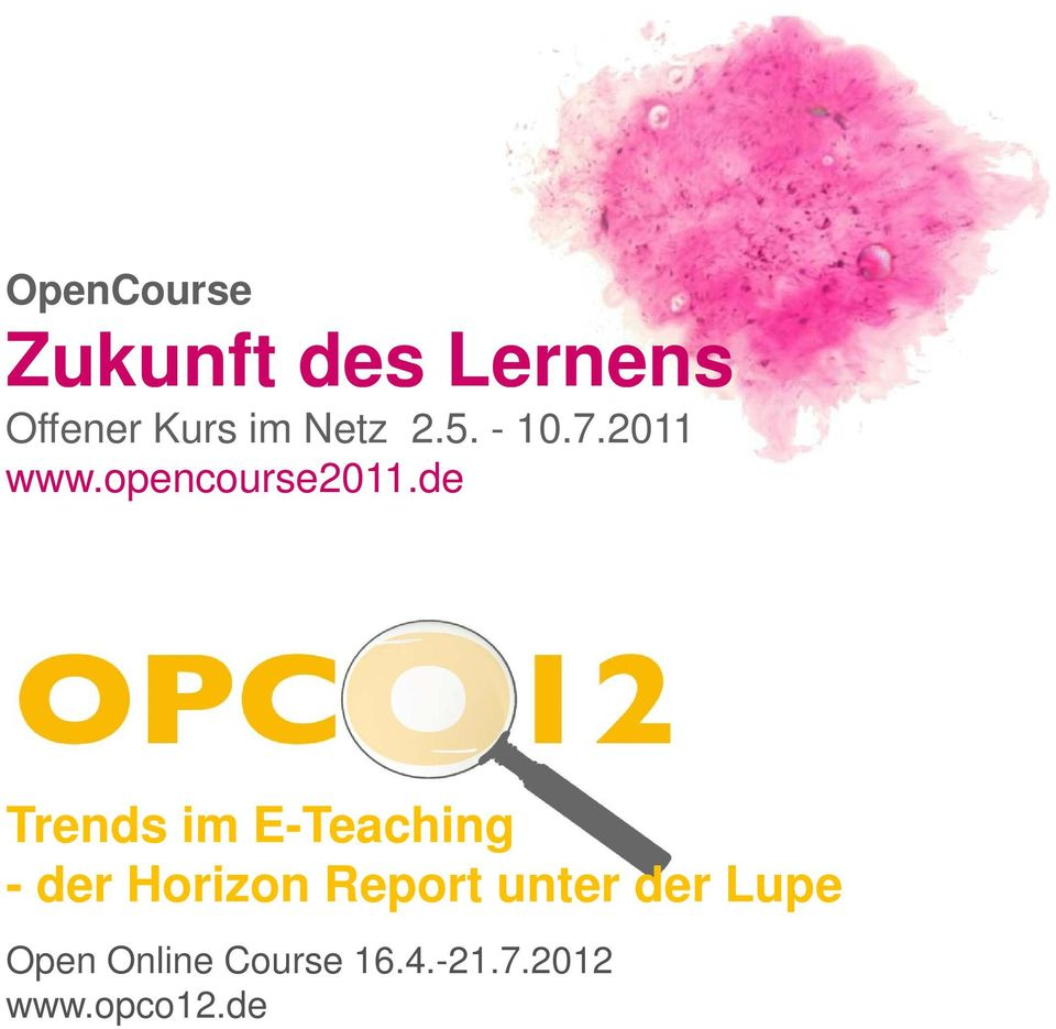 de Trends im E-Teaching - der Horizon Report