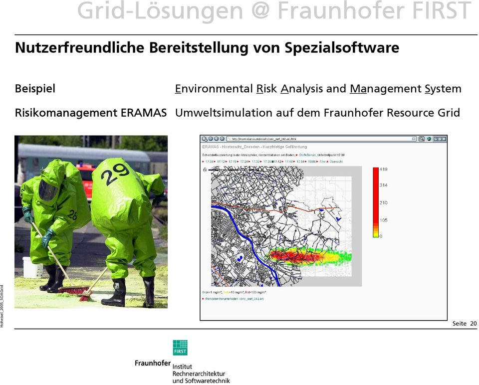 Environmental Risk Analysis and Management System