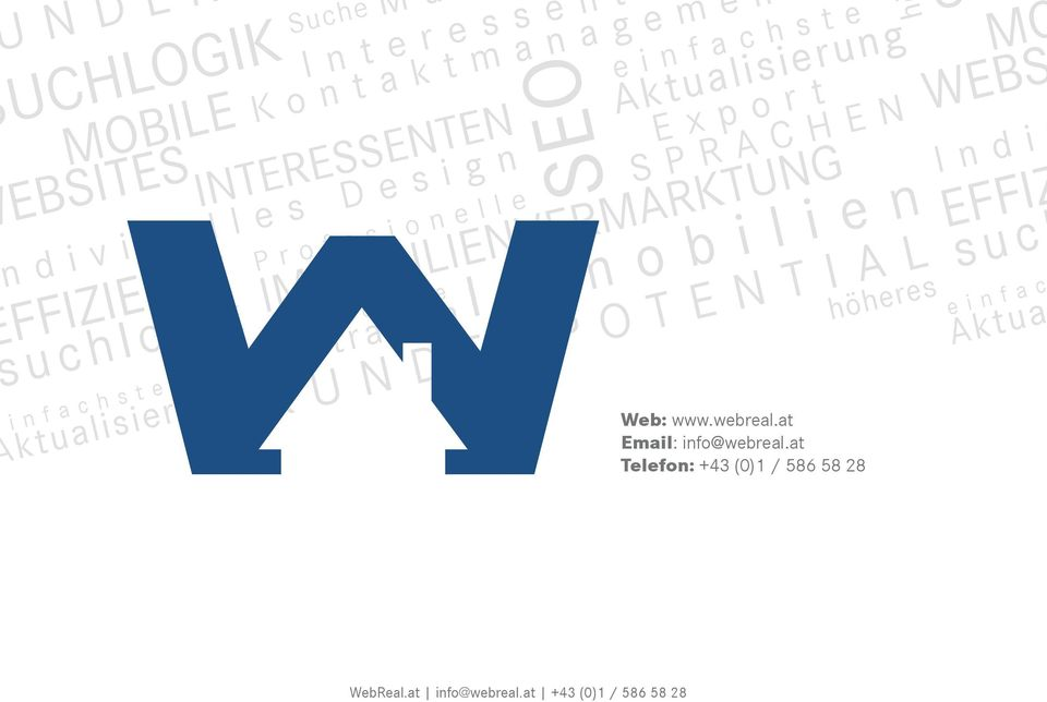 SPRACHEN Web: www.webreal.at Email: info@webreal.