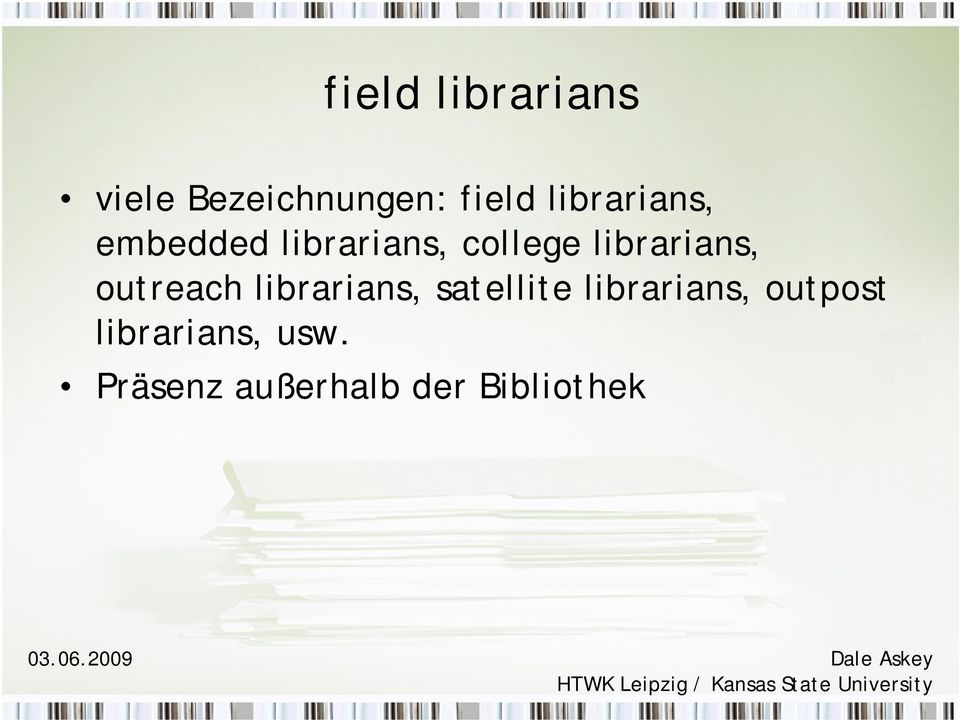 librarians, outreach librarians, satellite