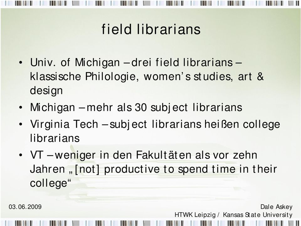 art & design Michigan mehr als 30 subject librarians Virginia Tech subject