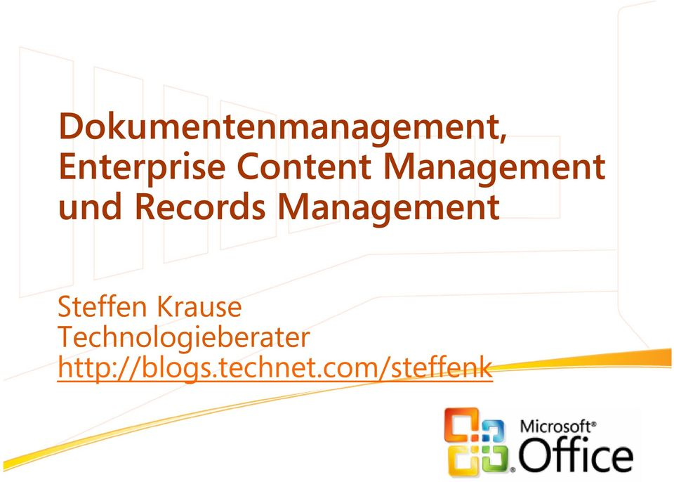 Management Steffen Krause