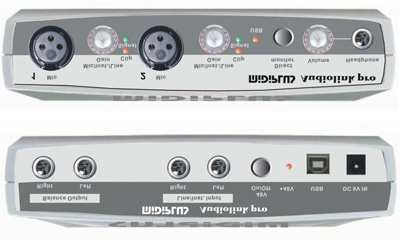 Miditech Audiolink Pro USB Class Compliant USB Audio Interface (Kein Treiber nötig für Windows XP, Windows Vista & Mac OS X (10.2.