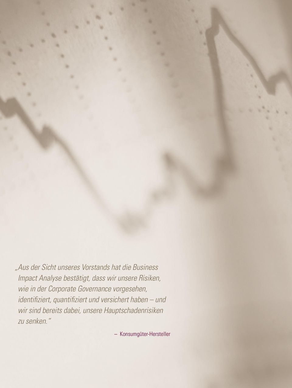 Konsumgüter-Hersteller This brochure is made available for informational purposes only in support of the insurance relationship between FM Global