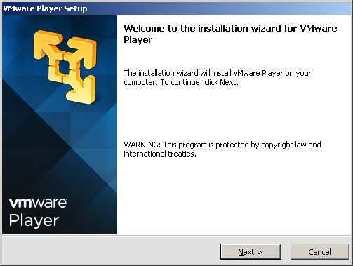 2 Installation / Konfiguration 2.1 Download & Installation (VMware Player) Eine aktuelle Version des VMware-Players finden Sie unter folgendem Link: https://my.vmware.