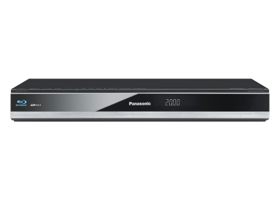 DMR-BCT720 Blu-ray Recorder mit Twin HD DVB-C Tuner, 500 GB Alles in Einem: Set Top Box, Festplattenrecorder und 3D Blu-ray Recorder/ Player Ideal für 3D und HDTV: Empfang, Aufnahme und Wiedergabe