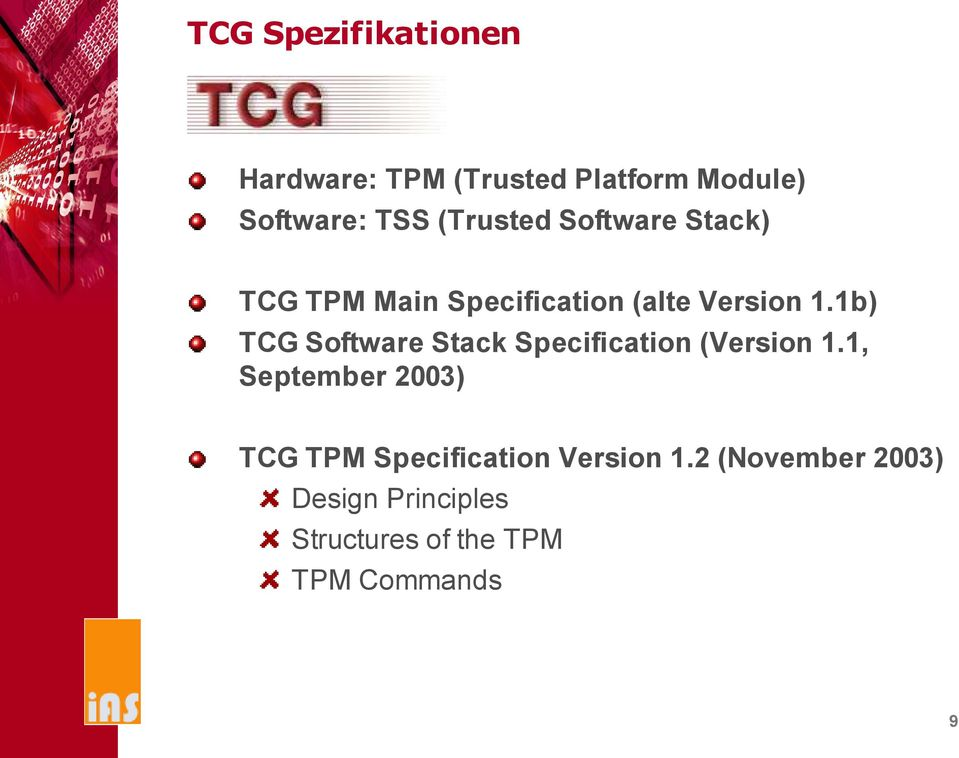 1b) TCG Software Stack Specification (Version 1.