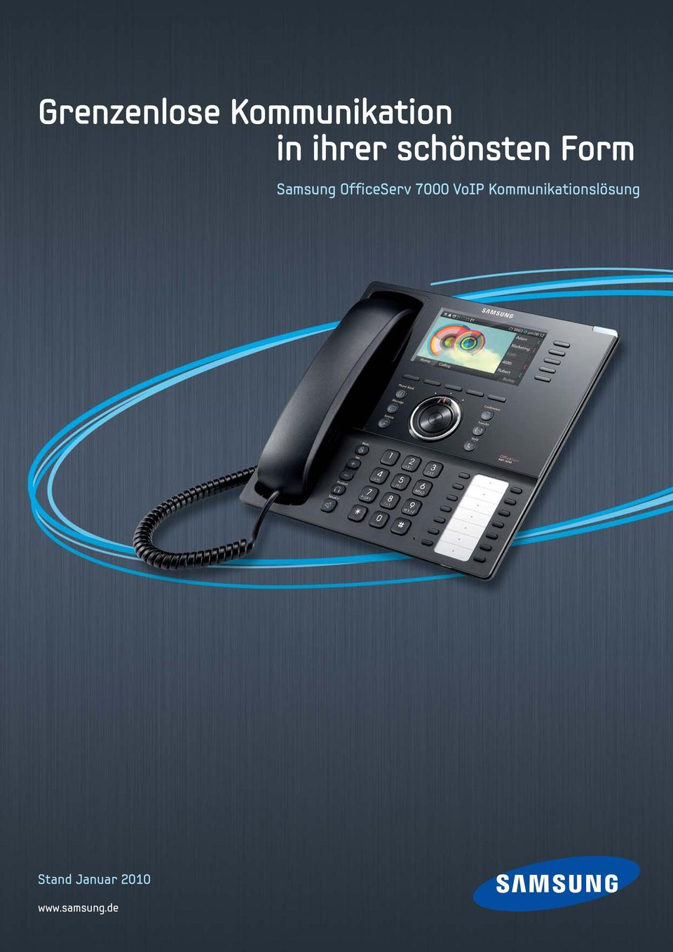 OfficeServ 7000 VoIP