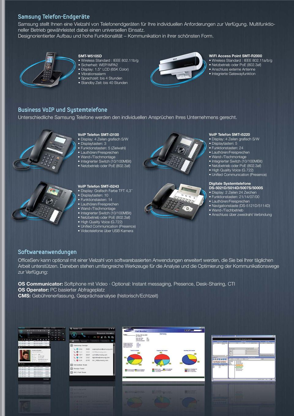 SMT-W5105D Wireless Standard : IEEE 802.11b/g Sicherheit: WEP/WPA2 Display: 1.