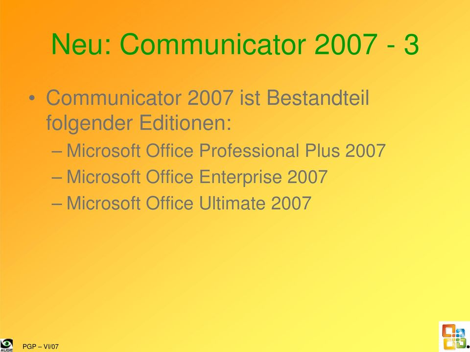Microsoft Office Professional Plus 2007
