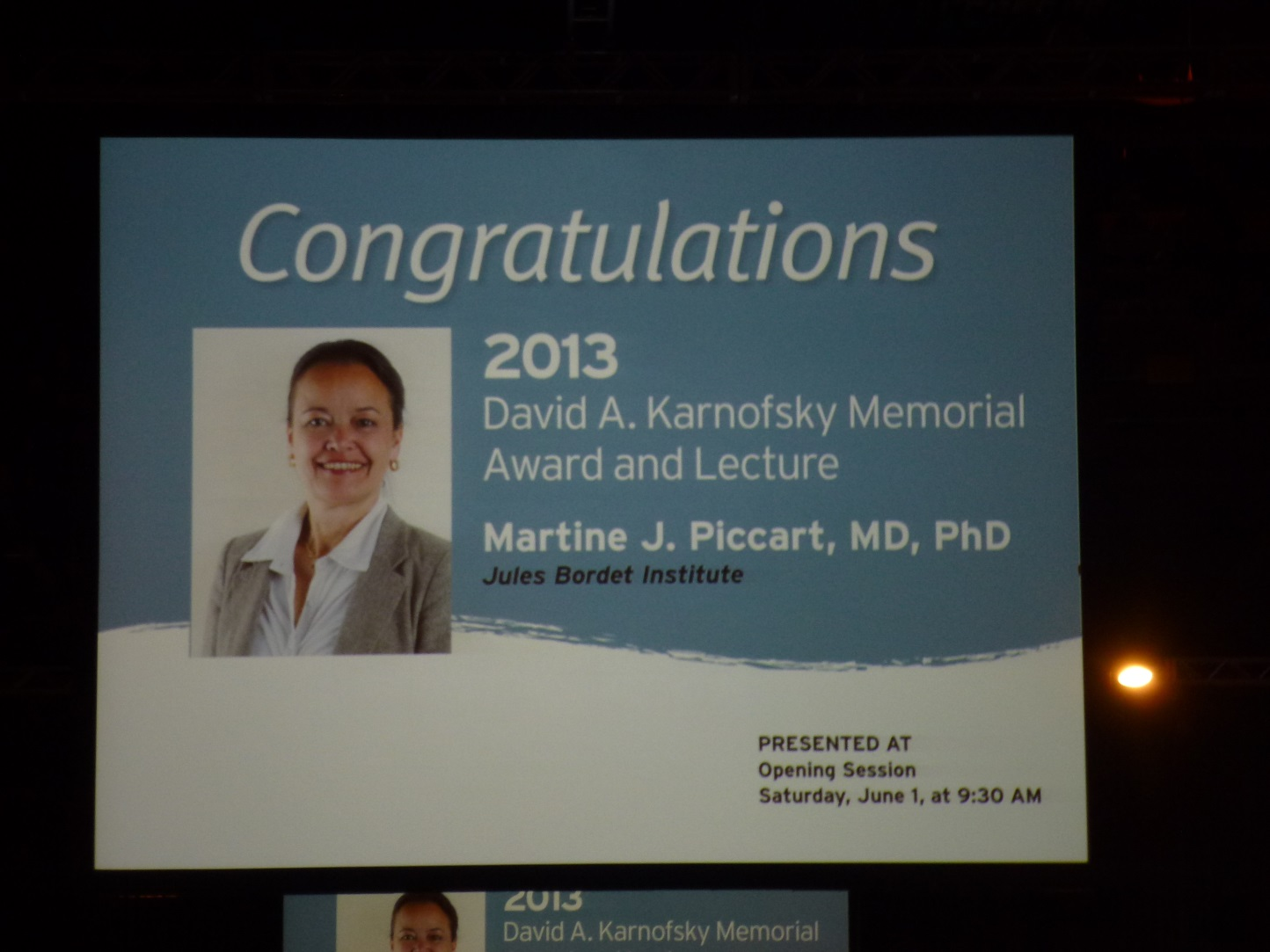 ASCO 2013 Prof. Harbeck ASCO 2013: HIGHLIGHTS MAMMAKARZINOM 3 29.07.