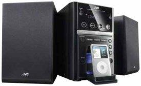 JVC UE UX-GP 7 V Anthrazit Micro-Stereo-System, 2x30 Watt maximale Musikleistung,