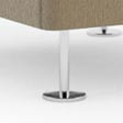 height adjustable legs Füsse justierbar seasoned glass, milk G1