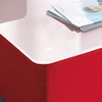 WEISSALU felt glides Filzgleiter three colours of HPL laminate: