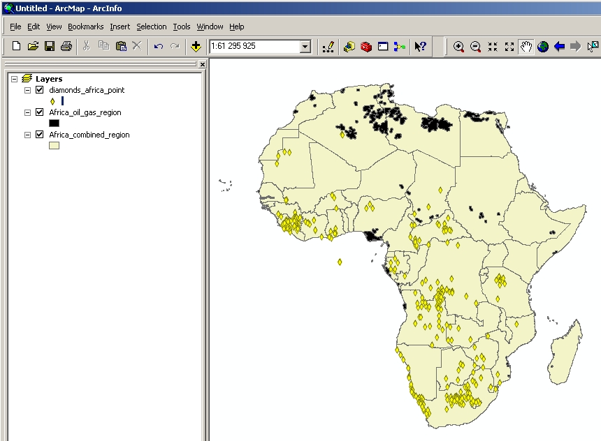 Lesson plan Conflicts and natural resources in Africa Worksheet ...