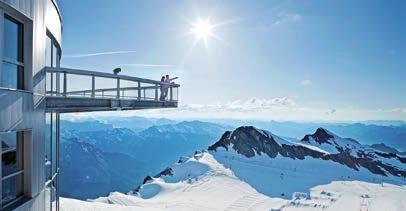 Kitzsteinhorn adventure: discover the world of the 3000-meter summits, fun in the summer snow and Salzburgs s highest view