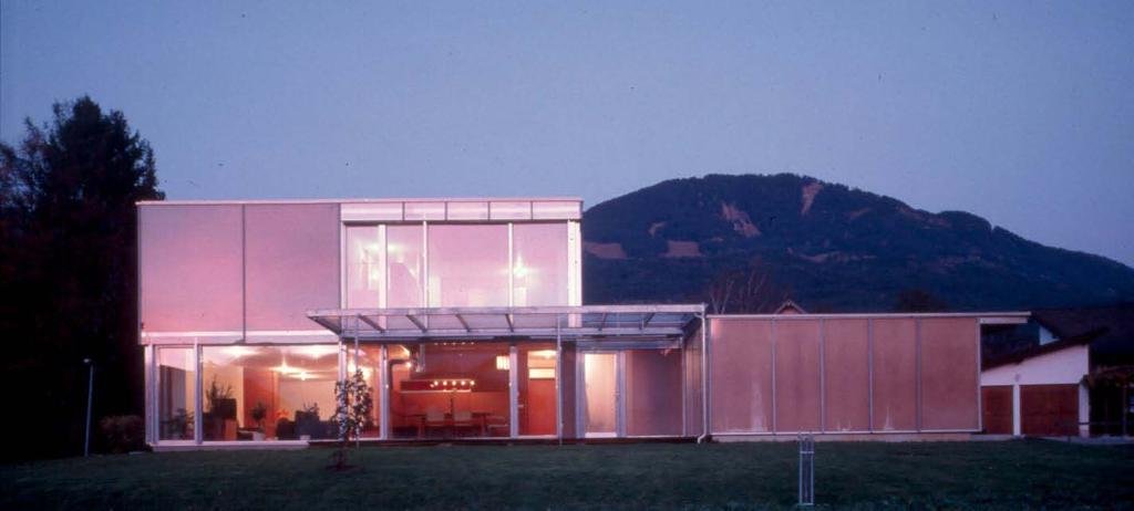Single Family Passive-House in A - Satteins Architekt: Walter