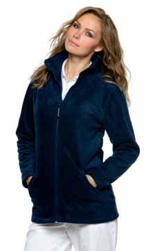 --Rückseitiger Stickzugang --Elastisches Zugband am Bund FH550 LV550 Piped Microfleece Finden+Hales FH551 LV551 Ladies Piped Microfleece