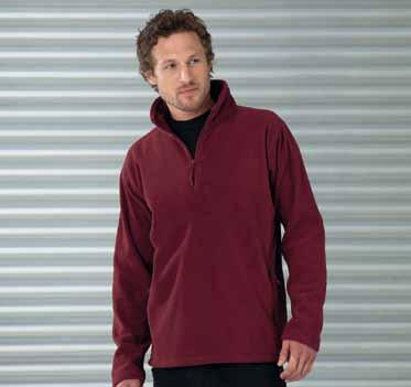Fleece (Half-Zip) Kids 286 Z8740 R-874M-0 XS, 320 g/m² Bottle Green Bright Royal Outdoor Fleece 1/4-Zip Burgundy Classic Convoy Grey (nicht meliert) French Orange