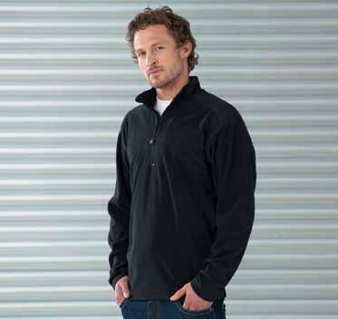 Fleece (Half-Zip) Z881 190 g/m² R-881M-0 Microfleece 1/4-Zip Jerzees Colours K901 KK901 Grizzly Half-Zip Active Fleece Grizzly Classic French Steel Grey --Anti-Pilling Microfleece --Stehkragen mit