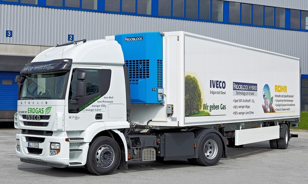 Iveco Stralis AT 440 S 27 T/P CNG.