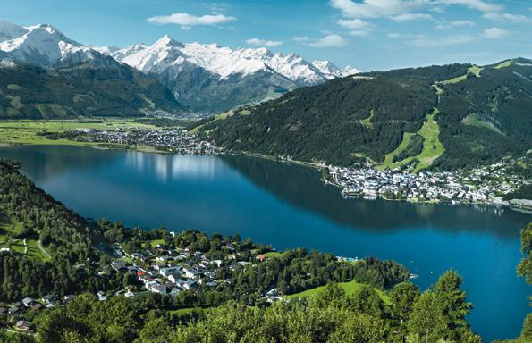 Ihre Zell am See- Kaprun SommerKarte ihr Türöffner zu den Highlights der Region The Zell am See-Kaprun summer Card opens up a whole load of opportunities in the region.