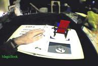 of virtual objects Two-handed manipulation World in Miniature Small 3D model