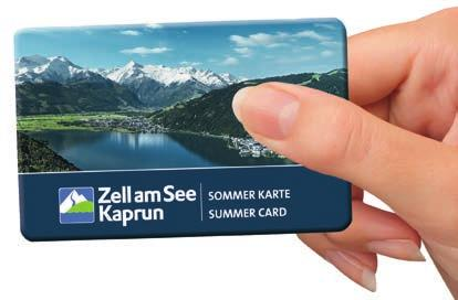 (skiers excepted) and numerous free guided hiking tours at the Kitzsteinhorn in Kaprun and on the Schmitten in Zell am See z lidos, indoor and outdoor pools in Zell am See z postal buses within Zell
