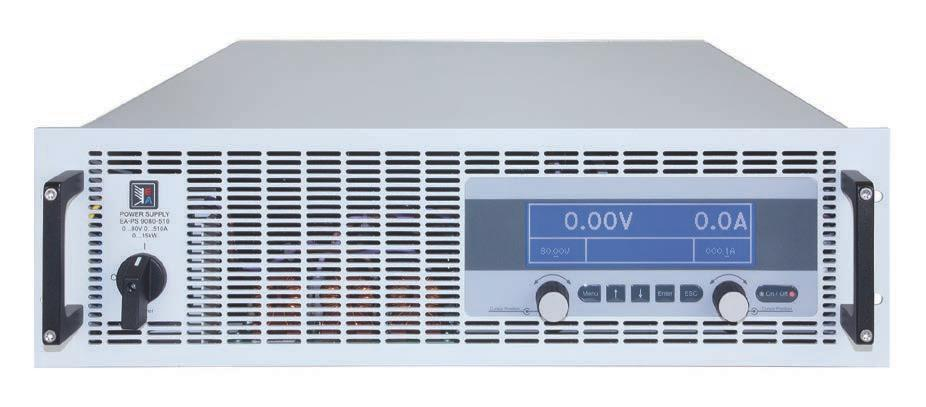 3 kw, 5 kw, 6.6 kw, 10 kw oder 15 kw, erweiterbar bis 150 kw or 15 kw, expandable up to 150 kw usgangsspannungen: 40 V bis 1500 V Output voltages: 0...40 V up to 0.