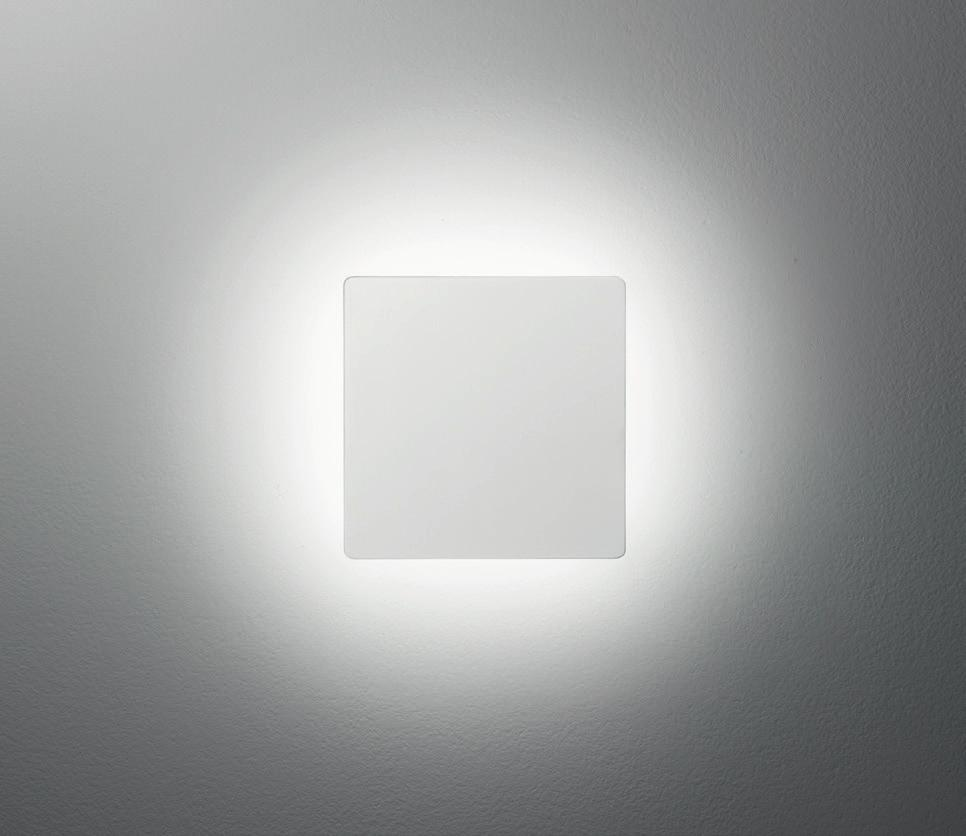 V, mit 18 W AC-, aus Aluminiumdruckguß, mit Acrylglasabdeckung, für den Innen- und Außen bereich verwendbar, IP54 236 40 -wall and ceiling luminaire 230 V, with 18 W AC-, made of die-cast aluminium,
