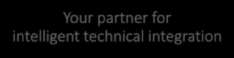 Your partner for intelligent technical