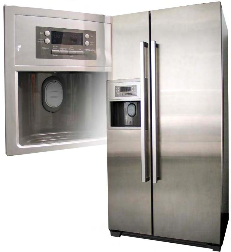 2 Side-by-Side Appliances Models: Bosch Siemens KAN 56V** KAN58A** KA58NA**with water/ice dispenser KAN58P** KA58NP**with water/ice dispenser KAN60A** KA60NA**with water/ice