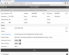 Insight Control Panel Integriert z.b. IBM Maximo 7.