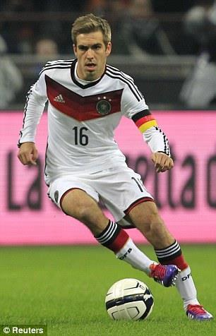PHILIPP LAHM Philipp Lahm hat 2010