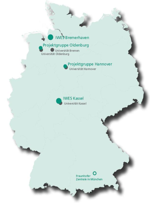 Fraunhofer-Institut für Windenergie und Energiesystemtechnik Advancing Wind Energy and Energy System Technology Gründung: