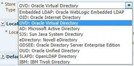 ODSM: Oracle Directory Services Manager LDAP: Lightweight Directory Access Protocol