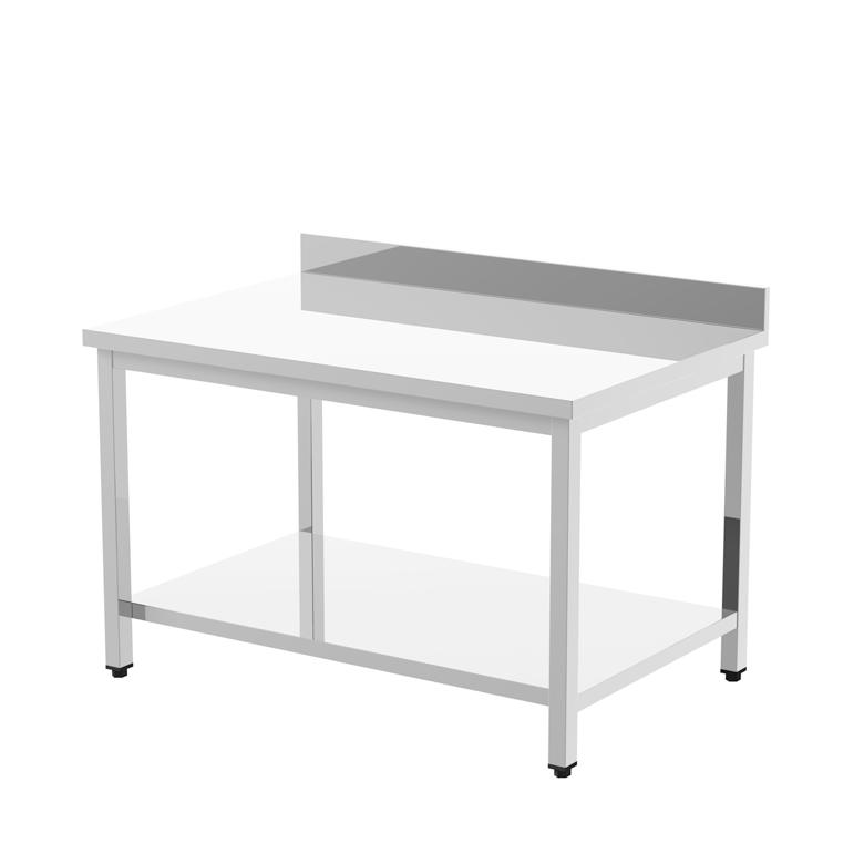 6 legs to increase their sturdiness They can be provided with drawer units with 1,2 or 3 drawers and they are also available in the tub version EN FR Les nouvelles tables sur piétement sont