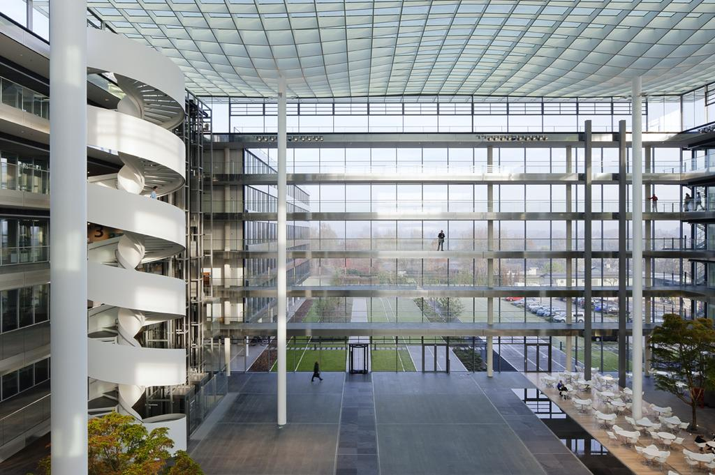 HDI Hannover A: Ingenhoven Architects;