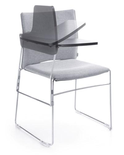 Joining for chairs with armrests.
