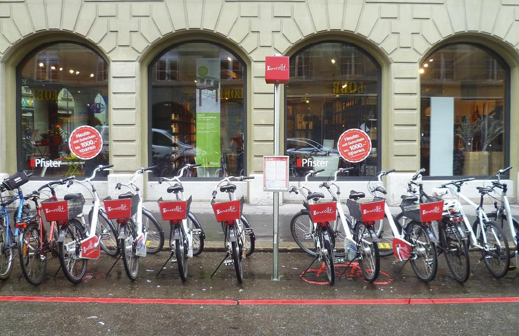 How we support biking in Bern Public