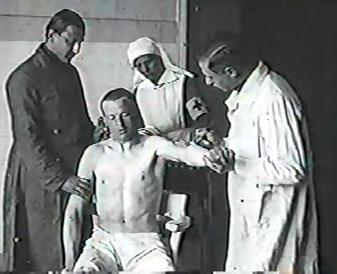 Returning to Ferenczi s own experiences, in May 1917 he was ordered to continue his service in a reserve hospital in Újpest, a suburb of Budapest, in a modern and well-equipped neurology section