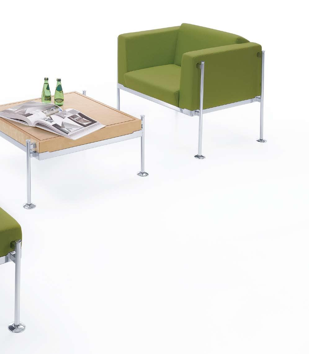 PRADERA 11 O CHROME PRADERA TABLE S3 CHROME
