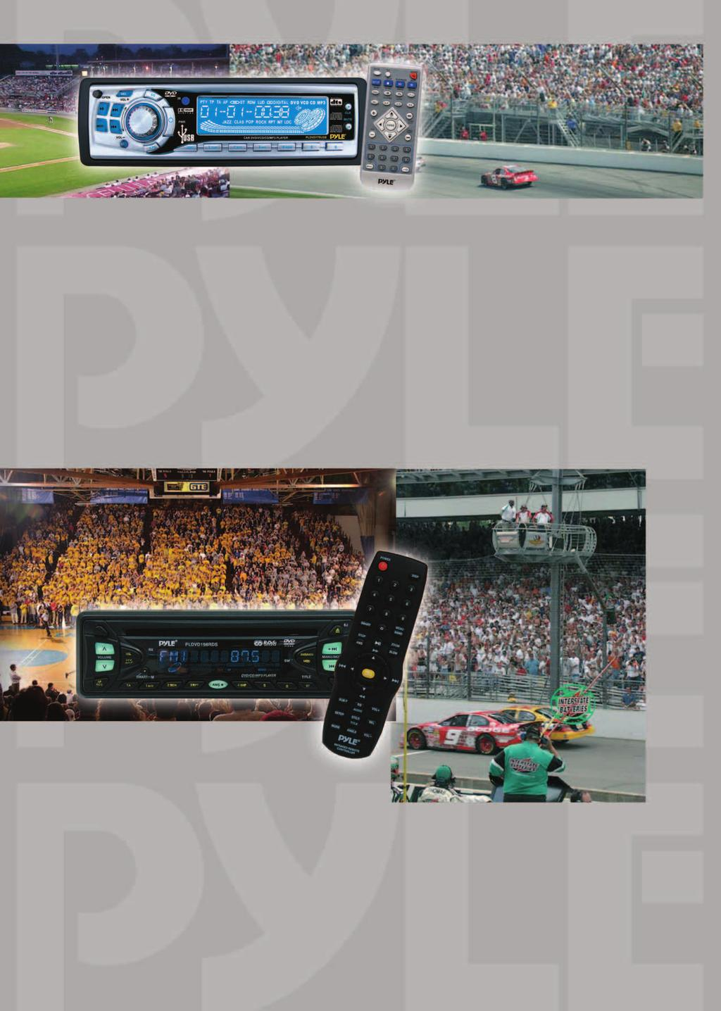 PLDVD178 USB 1 DIN DVD-Player PAL/NTSC mit USB-Port für MP3 Wiedergabe DVD-Video, DVD-R, Video-CD, CD/CDR, MP3 kompatibel On Screen Display mit Titel, Spielzeit, Kapitel, Untertitel und Angle Max.