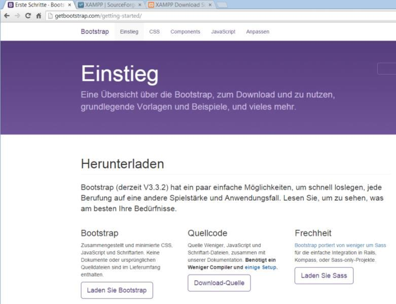 Bootstrap - Übung Download: www.